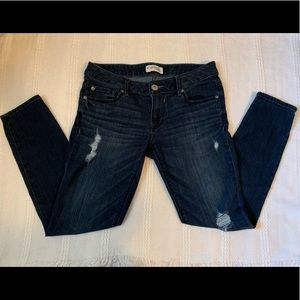 LIKE NEW EXPRESS SIZE 6 LOW RISE JEANS💙💙